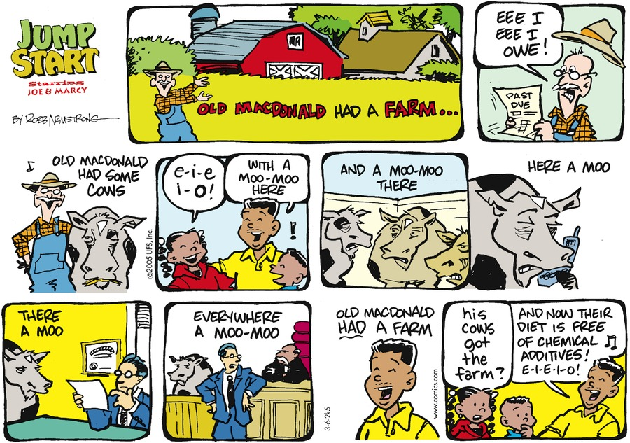 JumpStart Comic Strip for March 06, 2005