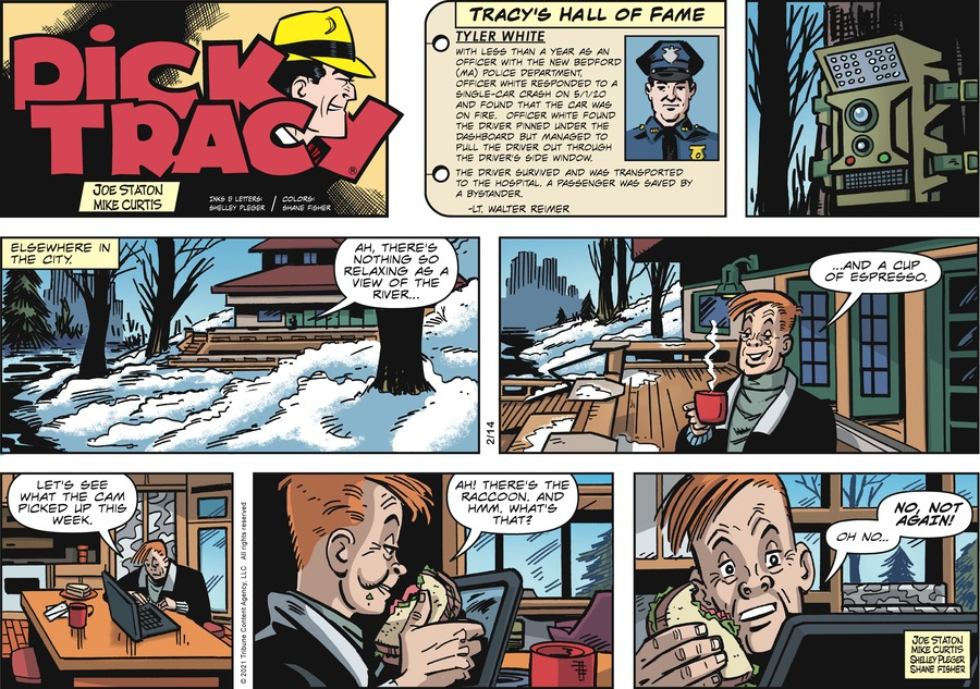 Dick Tracy by Joe Staton and Mike Curtis on Sun, 14 Feb 2021