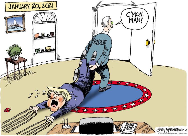 Gary Markstein Comic Strip for November 11, 2020