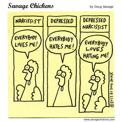 Savage Chickens for Jun 26, 2017 Comic Strip
