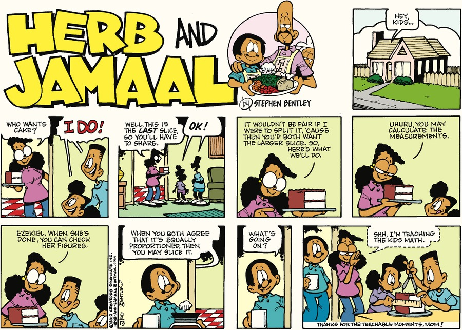 Herb and Jamaal Comic Strip for August 13, 2017