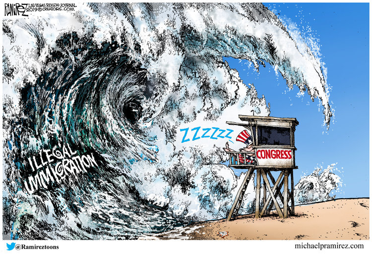 Michael Ramirez Comic Strip for March 10, 2019