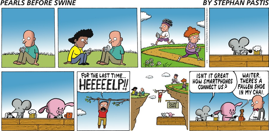 Pearls Before Swine Comic Strip for May 19, 2019