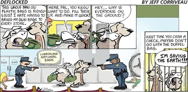 DeFlocked - Sunday April 19, 2020 Comic Strip