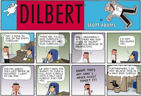 Dilbert - Sunday December 7, 2003 Comic Strip
