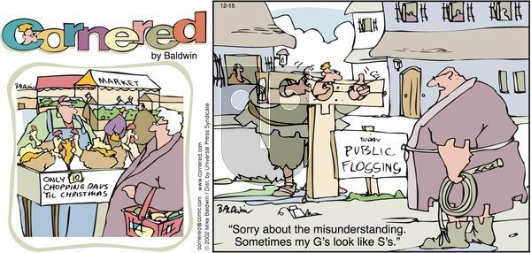 Cornered on Sunday December 15, 2002 Comic Strip