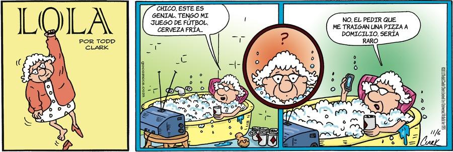 Lola en Español Comic Strip for August 02, 2020