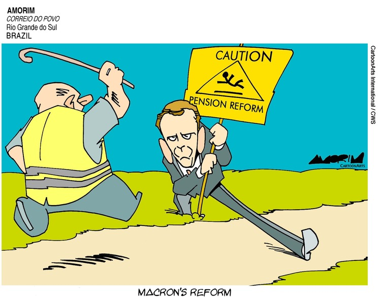 ViewsEurope Comic Strip for December 08, 2019