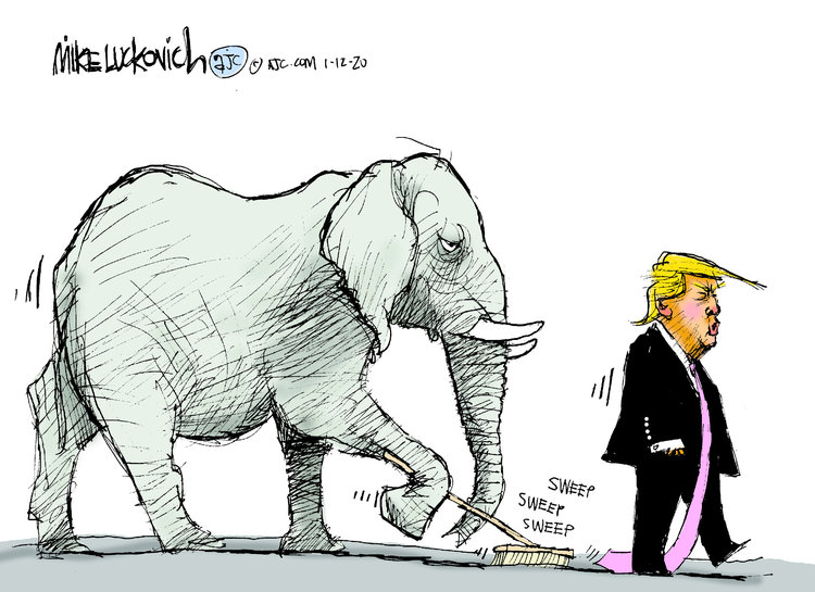 Mike Luckovich Comic Strip for January 12, 2020