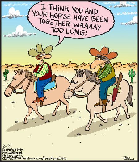 Free Range Comic Strip for February 21, 2020