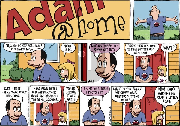Adam@Home on Sunday May 26, 2013 Comic Strip