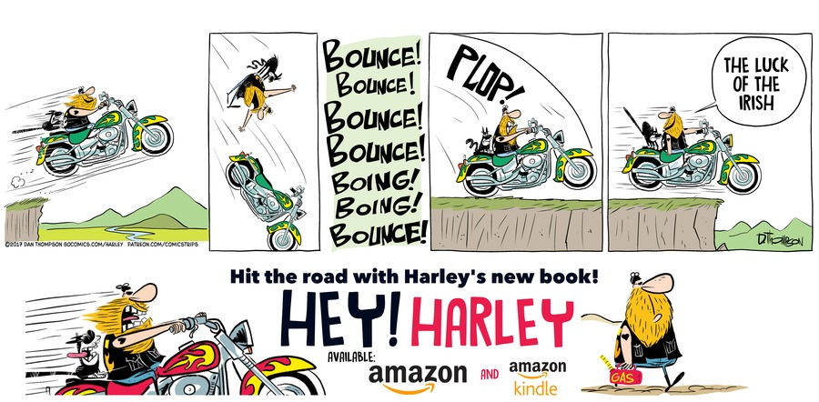 Harley by Dan Thompson for March 17, 2019
