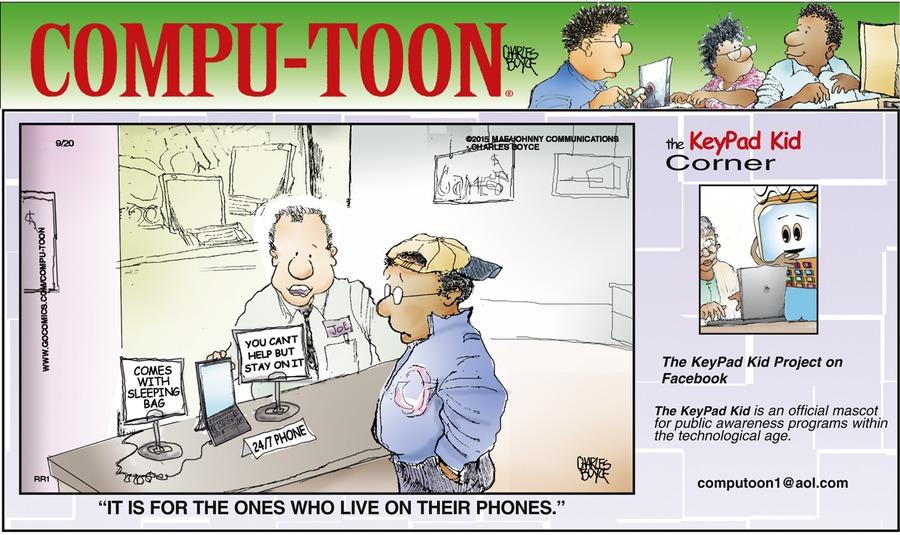 Compu-toon Comic Strip for September 20, 2015