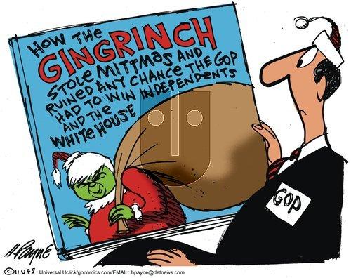 Henry Payne - Sunday December 18, 2011 Comic Strip