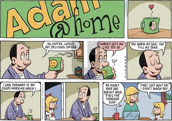 Adam@Home on Sunday May 24, 2020 Comic Strip
