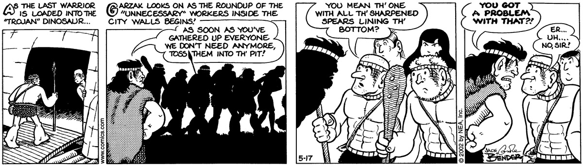 Alley Oop for May 17, 2002 Comic Strip