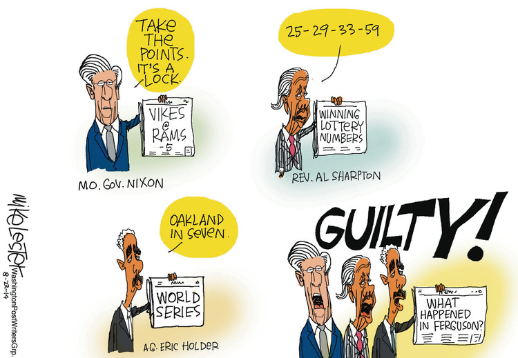 Mike Lester for Aug 22, 2014 Comic Strip