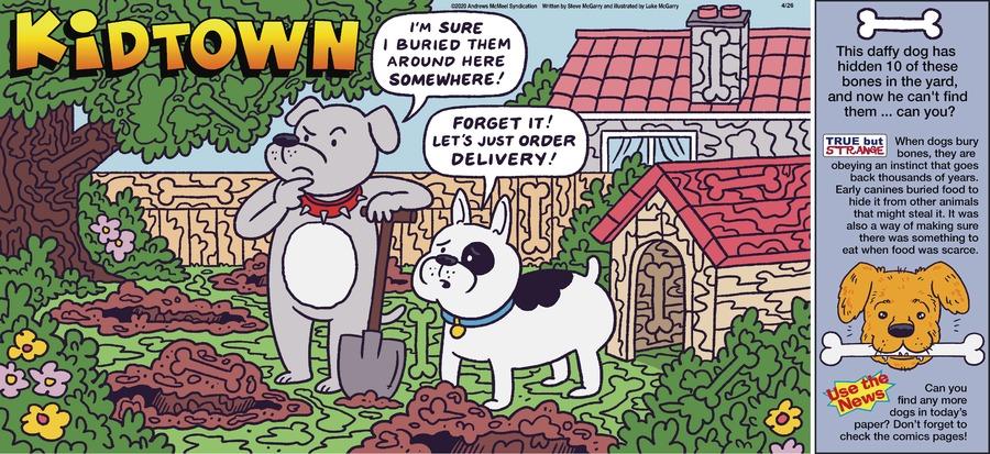 KidTown by Steve McGarry on Sun, 26 Apr 2020