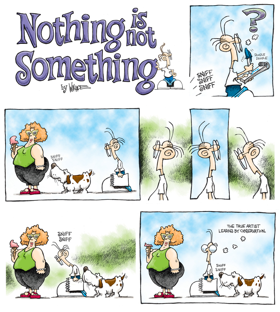 Nothing is Not Something Comic Strip for November 12, 2012