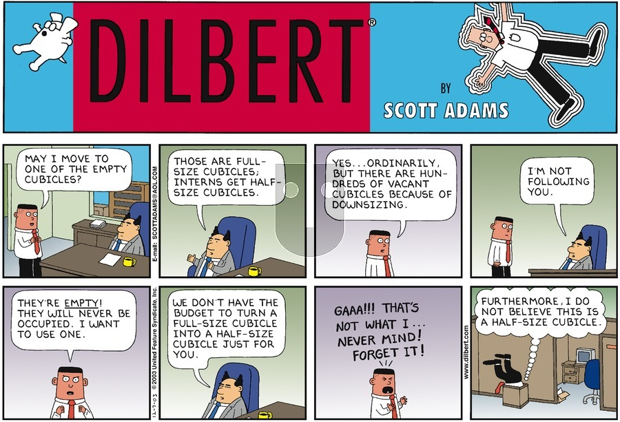 Purchase Comic Strip for 2003-12-07