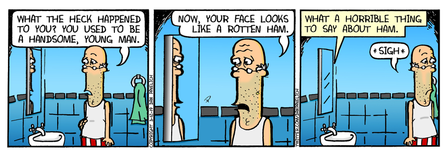 Just Say Uncle Comic Strip for March 12, 2019