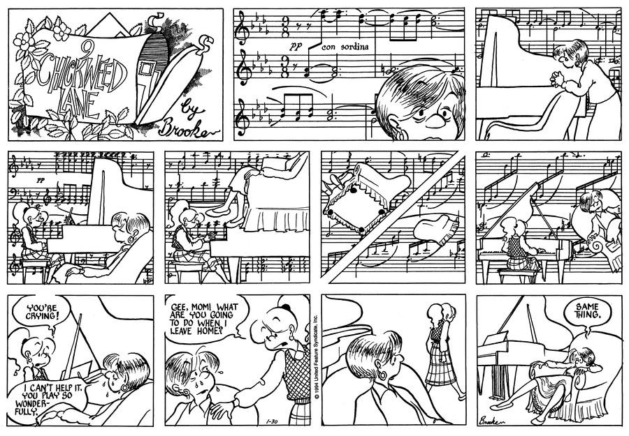 9 Chickweed Lane for Jan 30, 1994 Comic Strip