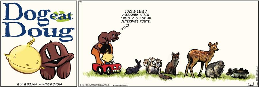 Dog Eat Doug Comic Strip for July 22, 2012