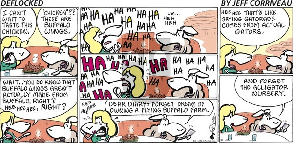 DeFlocked - Sunday May 3, 2020 Comic Strip