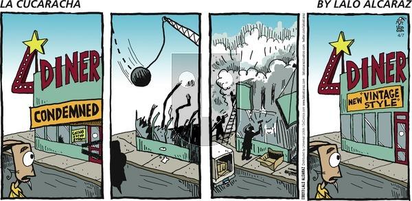 La Cucaracha on Sunday April 7, 2013 Comic Strip