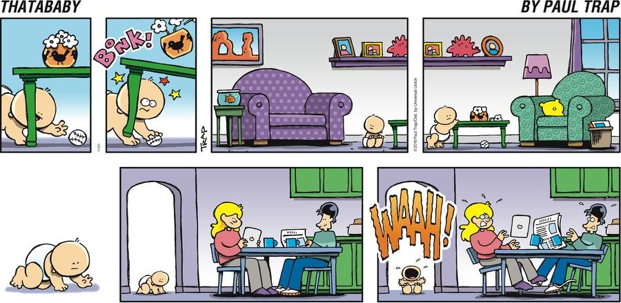 Thatababy for Nov 20, 2016 Comic Strip