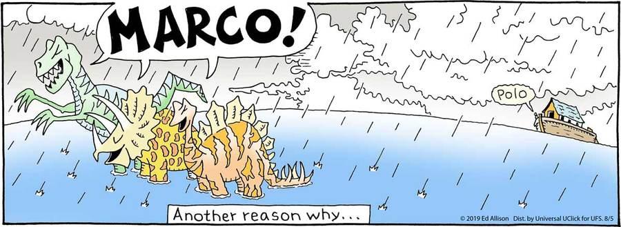 Unstrange Phenomena Comic Strip for August 05, 2019