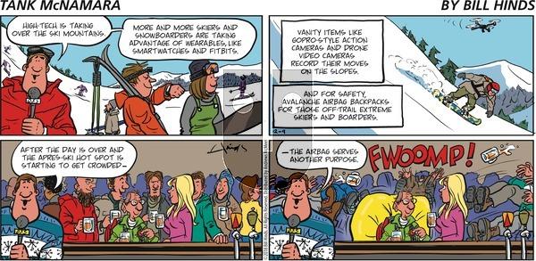 Tank McNamara on December 9, 2018 Comic Strip