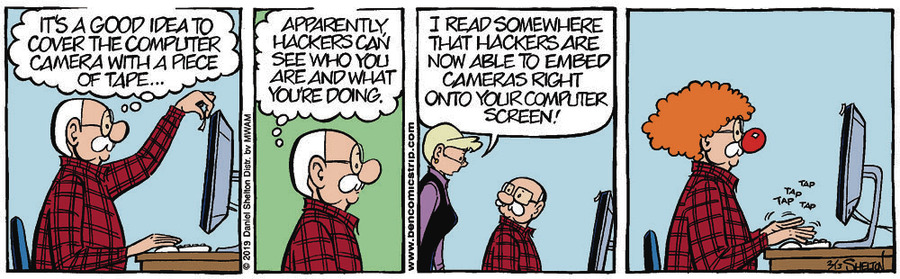 Ben Comic Strip for February 13, 2019