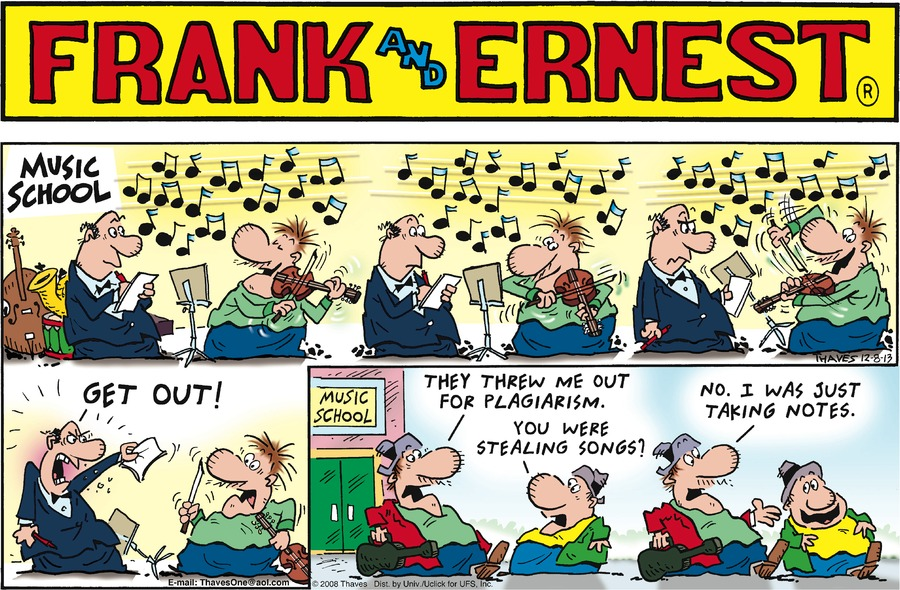 Frank and Ernest for Dec 8, 2013 Comic Strip