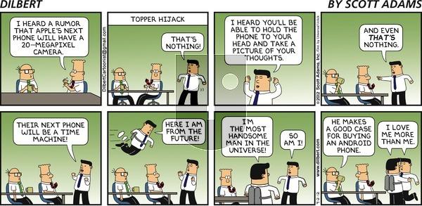 Dilbert on Sunday September 2, 2012 Comic Strip