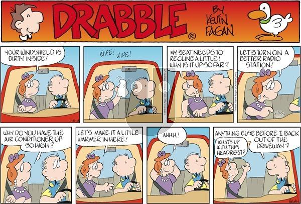 Drabble on Sunday July 8, 2018 Comic Strip