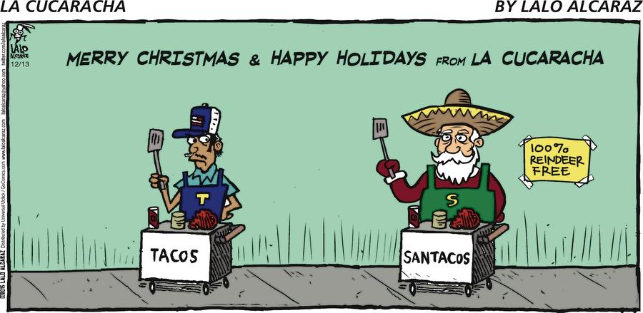 La Cucaracha Comic Strip for December 13, 2015