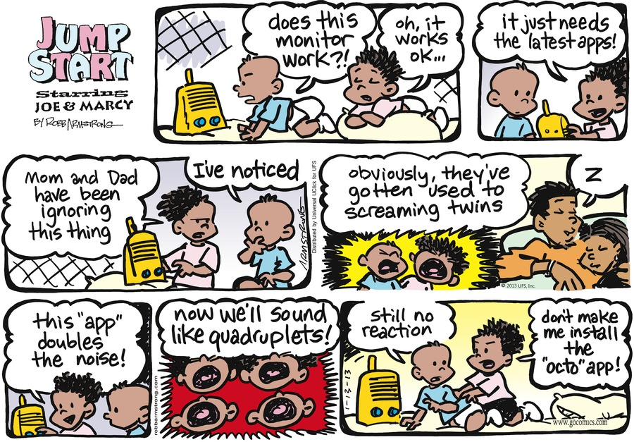 JumpStart Comic Strip for January 13, 2013