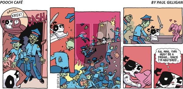 Pooch Cafe on Sunday December 13, 2015 Comic Strip