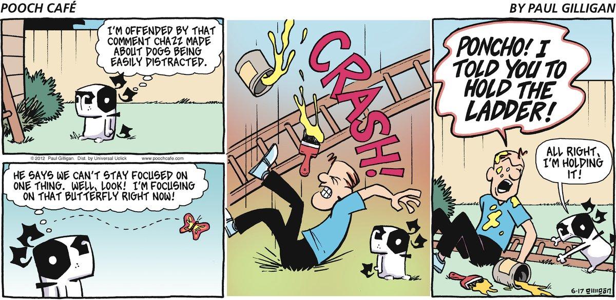 Pooch Cafe Comic Strip for June 17, 2012