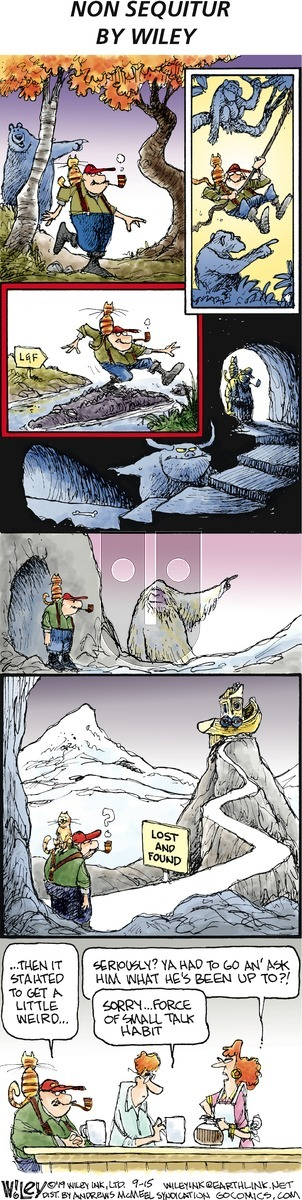 Non Sequitur on Sunday September 15, 2019 Comic Strip