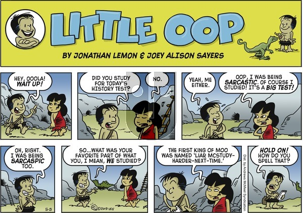 Alley Oop on Sunday May 5, 2019 Comic Strip