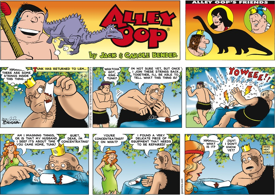 Alley Oop Comic Strip for May 21, 2017