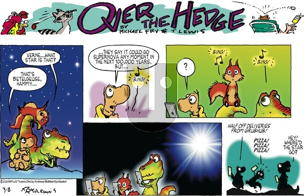 Over the Hedge on Sunday March 8, 2020 Comic Strip