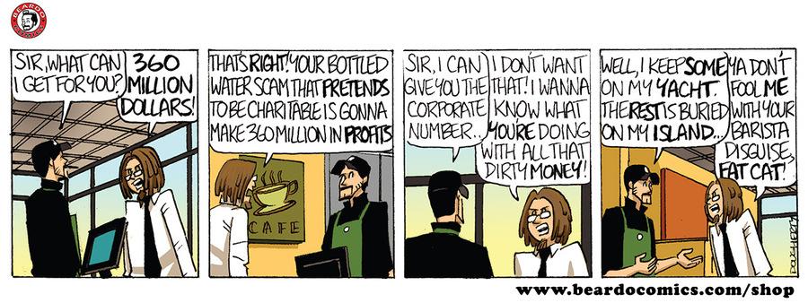 Beardo Comic Strip for January 23, 2019
