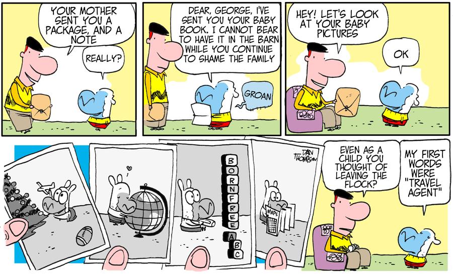 Lost Sheep for Jul 14, 2013 Comic Strip