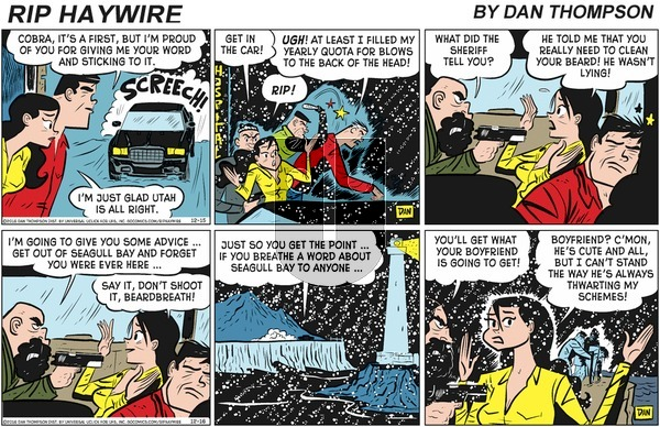 Rip Haywire on Sunday March 29, 2020 Comic Strip