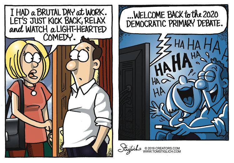 Tom Stiglich Comic Strip for June 26, 2019