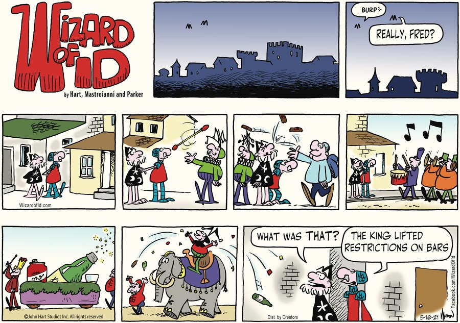 Wizard of Id Comic Strip for May 16, 2021