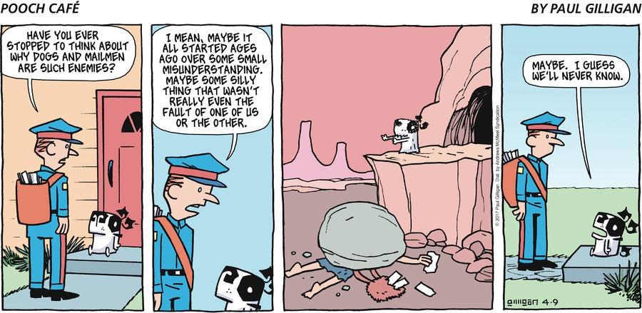 Pooch Cafe for Apr 9, 2017 Comic Strip